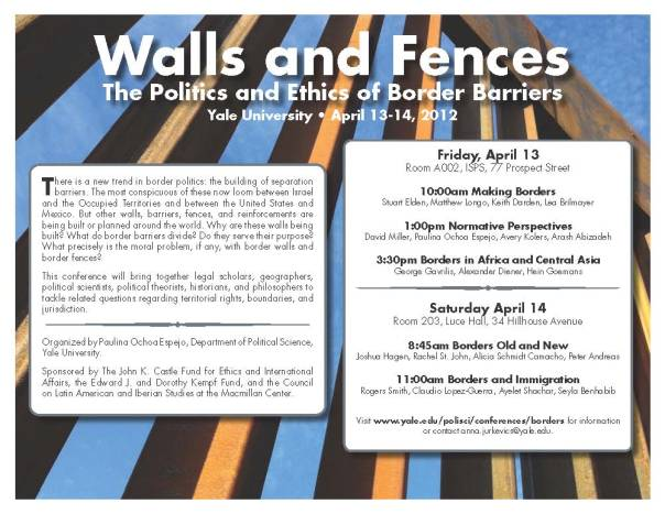 Borders Conference Poster